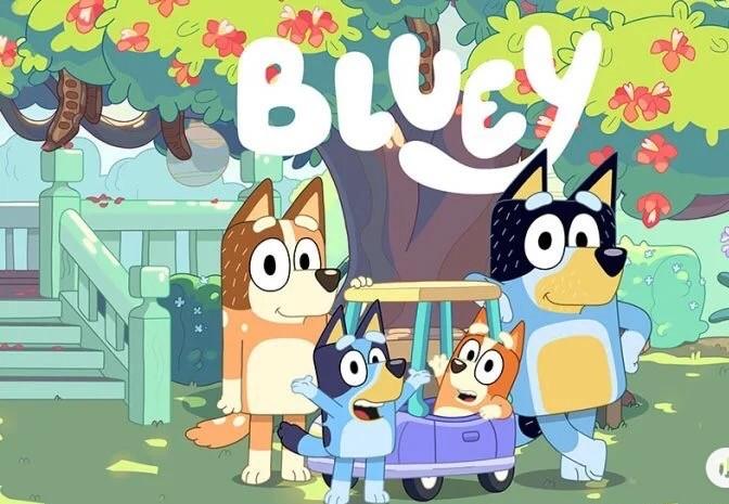 儿童早教资源,《布鲁伊》英文动画(共52集全套),百度网盘下载观看。